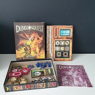 Vintage Games Workshop DUNGEONQUEST By Talisman D&D / RPG Board Game 1987 • 47.99£