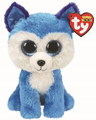 Ty Beanie Boos 36310 Prince The Blue Husky Boo Regular • 7.50£