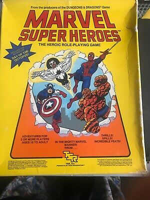 Vintage Marvel Superheros - The Heroic Role-Playing Game By TSR • 12£