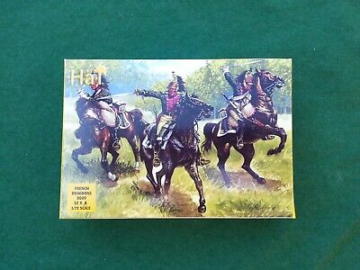 HaT 1/72 Napoleonic French Dragoons. Wargame Figures, Not Airfix, NEW, Free P&p! • 4.99£