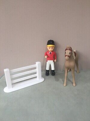Little Tikes Dolls House Horse, Horse Riding Doll & Fence • 18.99£