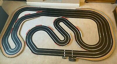 Scalextric Sport Layout With Lap Counter & 2 Cars • 385£