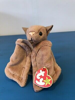 Original 1996 Ty Beanie Baby - Batty The Bat (Mint With Tags) • 0.99£