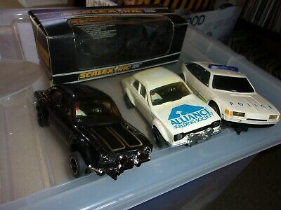 Scalextric Cvars X 3  One Boxed.  Escorts & Police Car • 27£