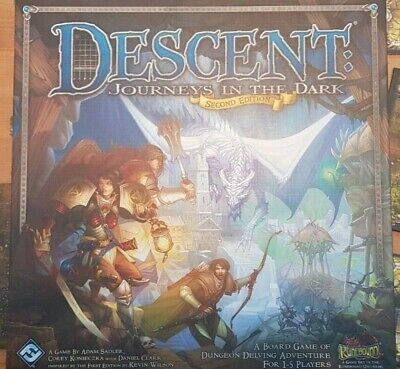 Descent: Journeys In The Dark 2nd Edition, In Perfect Condition. • 30£