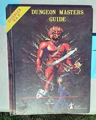 AD&D 1st Edition - DUNGEON MASTERS GUIDE (1979) - Good Condition W Writing • 5£