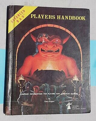 1978 ADVANCED D & D DUNGEONS & DRAGONS PLAYERS HANDBOOK Some Pages Written • 5£