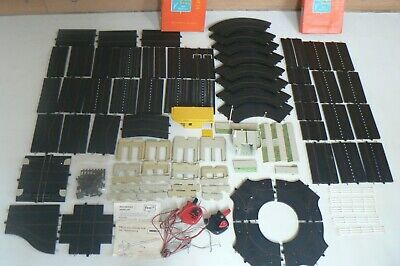 Vintage Tri-ang Minic Motorways Track Roundabout & Accessories Job Lot • 49£