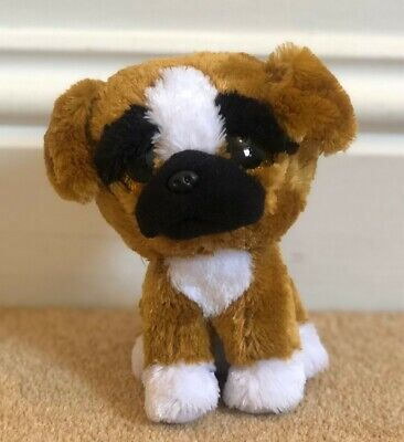 Ty Beanie Boo - Brutus The Dog 6 Inches - Good Condition • 1£