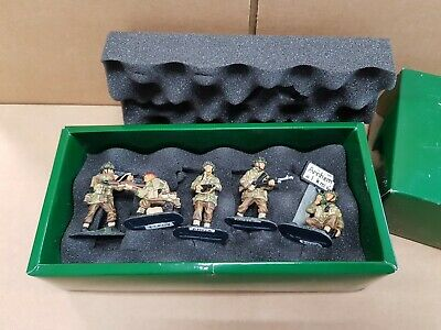 King And Country An01 Arnhem Battle For The Bridge Metal Toy Soldier Figure Set • 399.99£