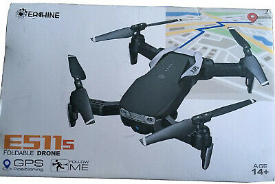 Eachine E511s Foldable Drone. GPS Positioning,Tilting 1080P Camera • 100£