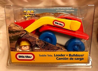 Little Tikes Loader Bulldozer Toddle Tots New Vintage Toy • 21.99£