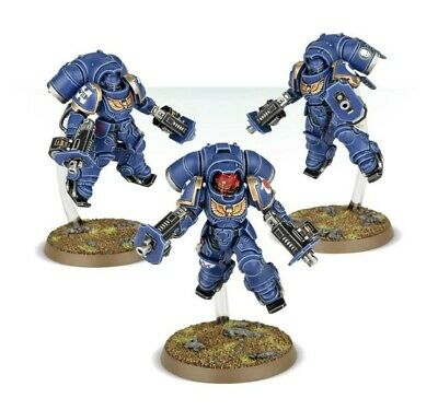 Warhammer 40K Know No Fear Space Marine Primaris Inceptors (3) New • 13.95£