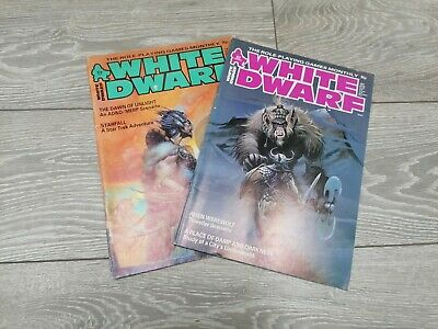 White Dwarf Magazines. Good Condition Numbers 62 +64 • 8.50£