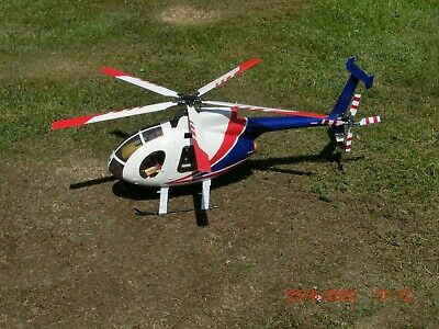 Hughes 500 R/C Model Helicopter + Spares • 185£
