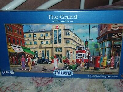 Gibsons  Jigsaw 636 Pieces The Grand • 3£