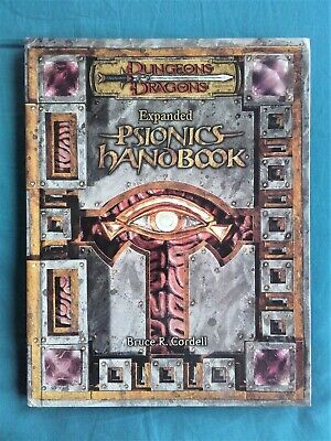 D&D3.5 Expanded Psionics Handbook (Wizards, 2004, First Printing) • 4.20£