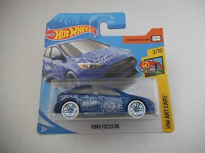 Hotwheels  FORD FOCUS RS *Unopened* • 2.99£