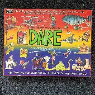 🔥 Vintage Dare Board Game 1989 Parker Tonka, Complete & In Great Condition • 13.99£