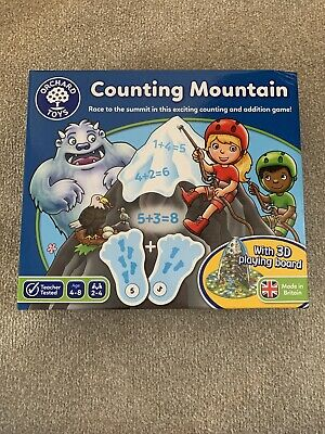 Orchard Toys COUNTING MOUNTAIN Kids Educational Puzzle BN • 8.50£