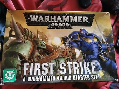 Warhammer 40k First Strike Incomplete • 2£