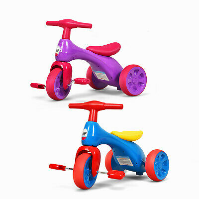 Kid Balance Bike Baby Walker Push Ride On Toy Toddler Tricycle For 1-3 Years Old • 35.99£