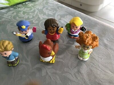 Fisher Price Little People Figures Animals Bundle Characters 14 • 3£