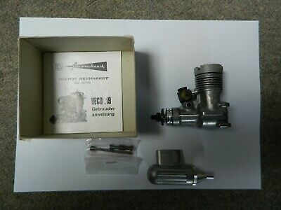 Veco 19 Radio Control Engine Absolutely New Old Stock Like OS, K&B, Merco • 31£