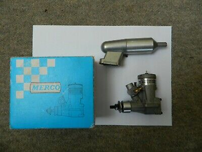Merco 40 Radio Control Engine Absolutely New Old Stock Like ASP, OS, K&B, ASP • 30£
