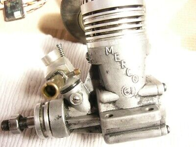 MERCO 61. Complete With Carb. Turns Freely. Good Compression. • 12£