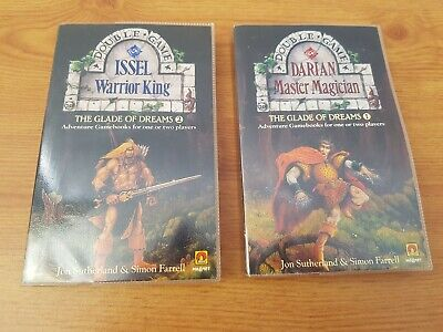 Adventure Gamebooks, Double Game, Number 1 And 2, DARIAN And ISSEL, Jon... • 1.20£