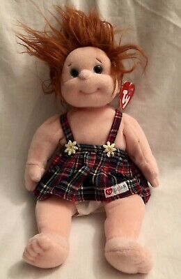 Ginger Ty Beanie Kids Kid Doll New With Tags • 5.99£