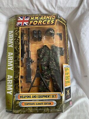 H M Armed Forces WEAPONS &  EQUIPMENT SET Temperate Climate Edition. Shelf Worn • 19.99£
