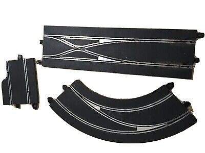 Scalextric Digital 1:32 Track C7008 Lane Changing Curve Right And Straight • 9£