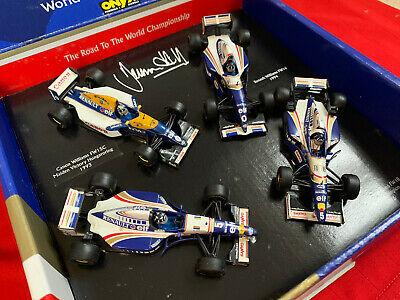 1:43 Onyx #LE8 Damon Hill 4 Car Collectors Set, World Champion 1996 - Boxed • 30£