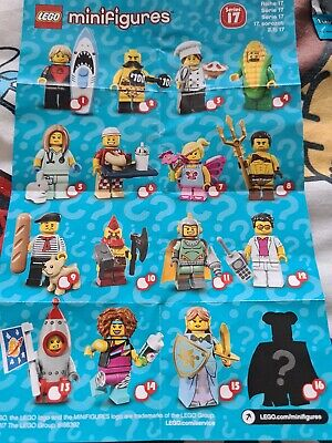 Lego Minifigures Series 17 Full Set • 30£