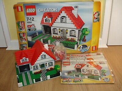LEGO Creator House (4956) - 100% Complete - Boxed + Instructions • 69.99£