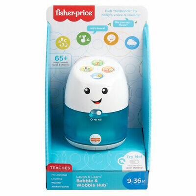 Fisher Price Laugh & Learn Babble & Wobble Hub • 19.99£