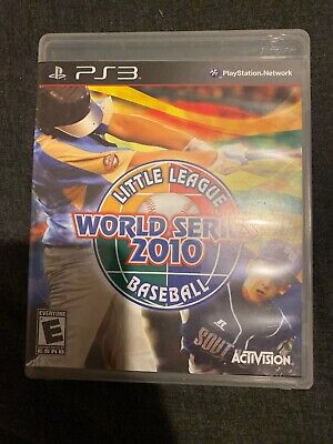 Little League World Series 2010 Playstation 3 USA Rare Trophy Stack PS3 Inhand • 29.99£