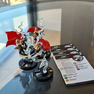 Marvel Heroclix - Thor 040 R - Captain America And The Avengers • 8.99£