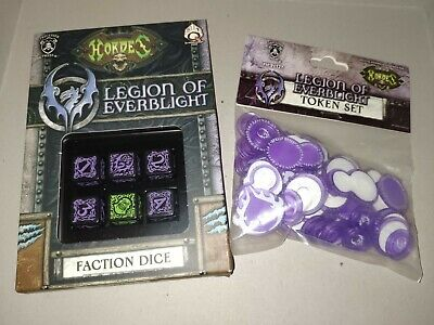 Hordes Legion Of Everblight Dice And Token Set • 15£