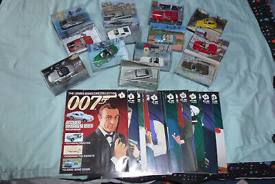 Eaglemoss James Bond Car Collection Editions 1 - 13 • 80£