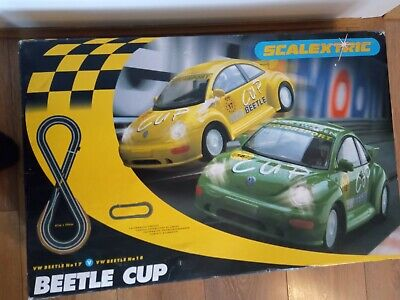 Scalextric VW Beetle /Beetle Cup • 10£