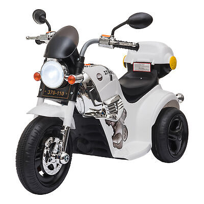 HOMCOM 3km/h Electric Motorbike Ride On W/ Lights Music Horn Storage 18-36 Month • 39.99£