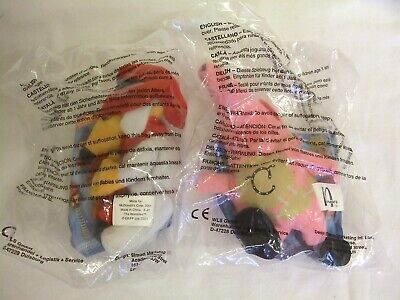 McDonalds Happy Meal Toys X 2 Womble & Clanger In Unopened Packets • 5.50£