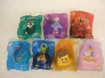 McDonalds Happy Meal The Lego Movie 2 X 7 From 2019 New In Packets  • 3.50£