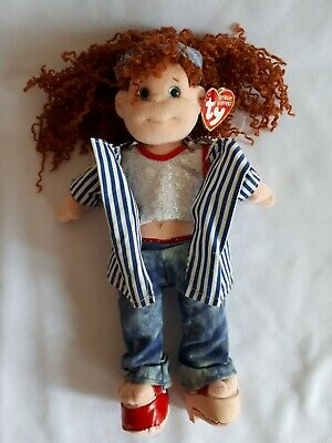 TY Beanie Boppers Doll With Tag And Costume - Giggly Gracie • 4.50£