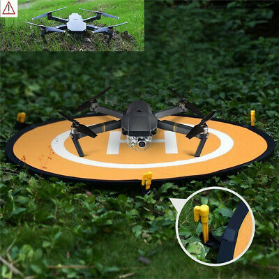 UK 75cm Helicopter Landing Pad RC Drone Landing Mat Helipad Unmanned Aerial • 7.68£