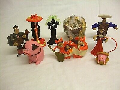 McDonalds Happy Meal The Book Of Life X 8 From 2014 2 X In Unopened Packets • 13.50£