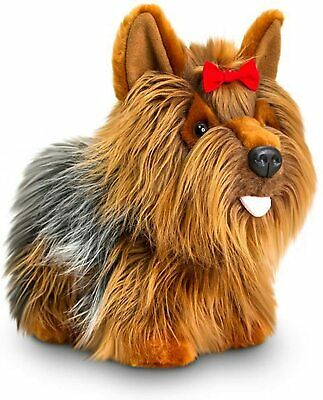 KEEL TOYS 30 Cm  SHAGGY YORKSHIRE TERRIER YORKIE CUTE CUDDLY SOFT TOY DOG • 24.99£